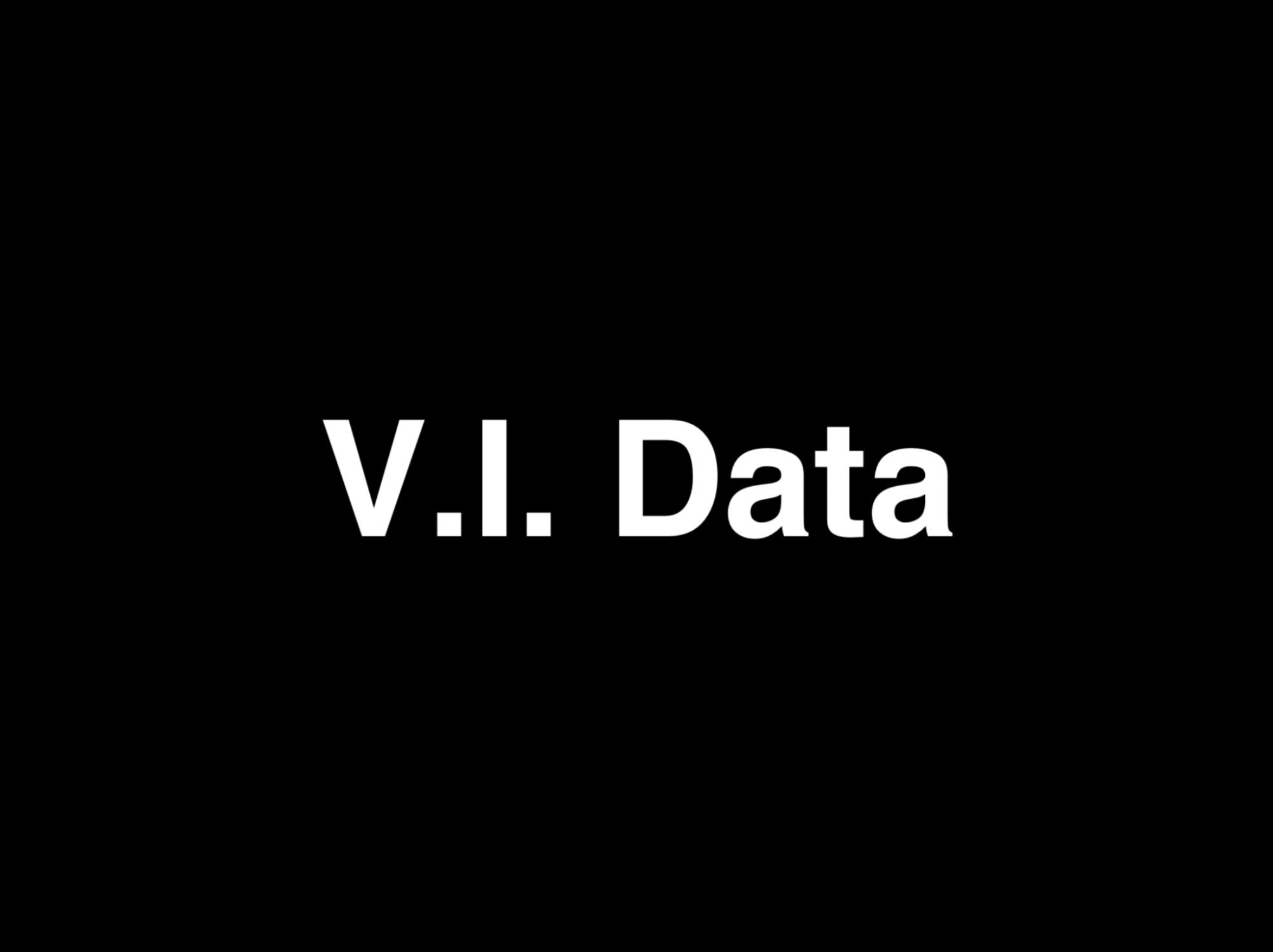V.I. Data